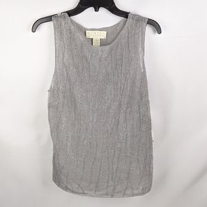 Norton McNaughton silver tank top